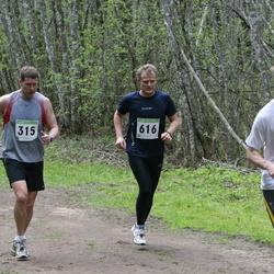 SEB 25. Tartu Jooksumaraton - Jaanus Liivamägi (315), Janar Saviir (368), Andres Koitmäe (613), Ain Inno (616)
