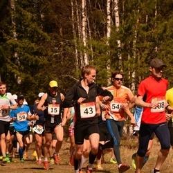 RMK Kõrvemaa Kevadjooks - Ago Teder (15), Rain Bõmberg (43), Heigo Hein (58), Melvin Sinirand (180)