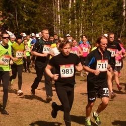 RMK Kõrvemaa Kevadjooks - Reigo Haug (570), Veiko Tarvis (711), Jaanus Vast (983), Andre Lomaka (986)