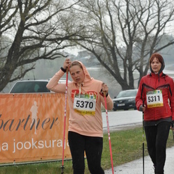 85. Suurjooks ümber Viljandi Järve - Ene Trallmann (5311), Annika Kullas (5370)