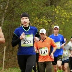85. Suurjooks ümber Viljandi Järve - Teno Ilves (107), Annika Vaher (237)