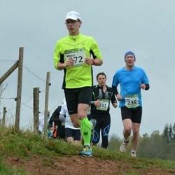 85. Suurjooks ümber Viljandi Järve - Arnis Sulmeisters (236), Mihkel Gill (372)