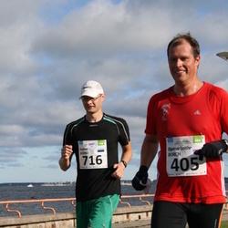 SEB Tallinn Maraton - BJØRNAR LEITHE BORCH (405), KAIMAR KERNO (716)