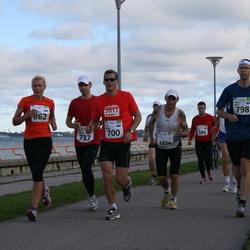 SEB Tallinn Maraton - ARNO SIBUL (596), KARL PEDAK (700), JUHAN HALDRE (737), TOMMY LAHTI (798), SIIRI MUSTKIVI (862), HARRI TOIVONEN (1424)