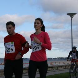 SEB Tallinn Maraton - KATRE KALK (595), ARNO SIBUL (596)
