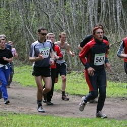 SEB 25. Tartu Jooksumaraton - Juhan Muru (512), Annika Vahtra (561)