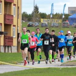 1. Jõgeva Rahvajooks - Kaspar Kukk (6), Kaisa Kukk (7), Margit Truus (20), Helle Viitak (23), Talis Nurk (24), Taavi Dovnar (36), Artur Kuzmin (62), German Terehhov (63)