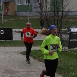 1. Jõgeva Rahvajooks - Britta Kasela (34), Rein Traus (59)