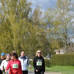 41. Vändra Maraton - Brigita Urmet (22), Tiia Tõkke (50)