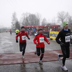 2. Tartu Novembrijooks - Tiiu Järv (139), Arno Proode (405), Hardi Hoffmann (408)