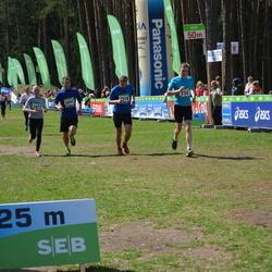 SEB 32. Tartu Jooksumaraton - Allan Lillend (750), Hannely Aitman (1072), Art Schneider (2093)