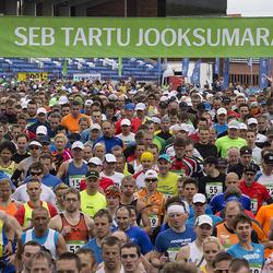 SEB 32. Tartu Jooksumaraton - Alar Savastver (55), Kalvi Reivelt (66)