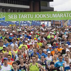 SEB 32. Tartu Jooksumaraton - Dmitri Aristov (3), Alar Savastver (55)