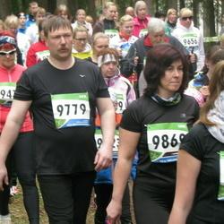 SEB 32. Tartu Jooksumaraton - Kalle Raidma (9779), Lehti Targijainen (9869)