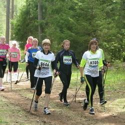 SEB 32. Tartu Jooksumaraton - Terje Jaanus (9478), Marianne Menning (9646), Mari Paal (9705), Grete Suurtee (9857), Ariane Vomm (9930)