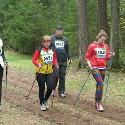 SEB 32. Tartu Jooksumaraton - Heleri Drobet (9434), Eha Kriks (9551), Anastasia Sergeeva (9835), Tõnis Öösalu (9940)