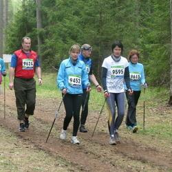 SEB 32. Tartu Jooksumaraton - Aire Haava (9452), Ingrid Lamp (9595), Anni Lillepea (9615), Jaak Luide (9624)