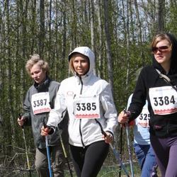 78. Suurjooks Ümber Viljandi järve - Keiu Talve (3384), Annika Vaikla (3385), Loore Kägo (3387)