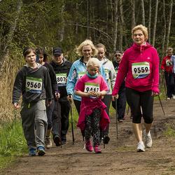 SEB 32. Tartu Jooksumaraton - Hedvig Altmäe (9417), Annely Kubri (9559), Kerly Kubri (9560)