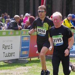 SEB 32. Tartu Jooksumaraton - Tarvi Kliimask (8056), Anatoli Läte (8195)