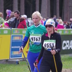 SEB 32. Tartu Jooksumaraton - Berit Kroon (9553), Annika Põlgast (9767)