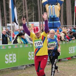 SEB 32. Tartu Jooksumaraton - Boris Goncharov (1124), Liilia Järmut (2083)