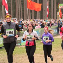 SEB 32. Tartu Jooksumaraton - Merlin Kalmus (8481), Anneli Vellerind (8558), Kaidi Hanni (9149)