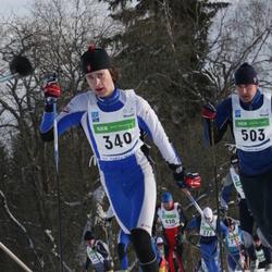 37. Tartu Maraton - Agu Bleive (340), Kaimar Vahelaan (503)