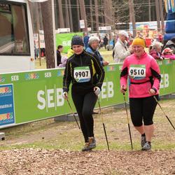 SEB 32. Tartu Jooksumaraton - Riina Kangro (9510), Anneli Uffert (9907)