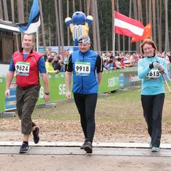 SEB 32. Tartu Jooksumaraton - Anni Lillepea (9615), Jaak Luide (9624), Mart Vare (9918)