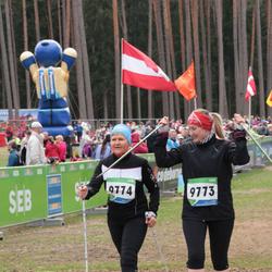 SEB 32. Tartu Jooksumaraton - Birgit Püve (9773), Elbe Püve (9774)