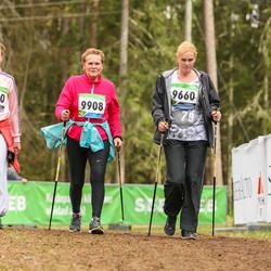 SEB 32. Tartu Jooksumaraton - Kadi Anajev (9420), Brigitta Mõttus (9660), Reet Uibo (9908)