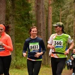 SEB 32. Tartu Jooksumaraton - Aarne Luud (360), Marika Saar (8432)