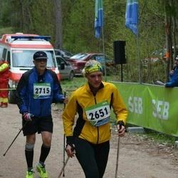SEB 32. Tartu Jooksumaraton - Anita Peiponen (2651), Andres Tark (2715)