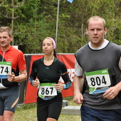 SEB 32. Tartu Jooksumaraton - Ando Sõrmus (804), Anette Zukker (867), Janek Trepp (974)