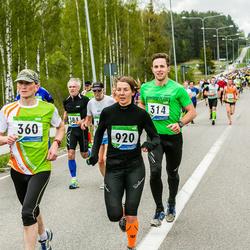 SEB 32. Tartu Jooksumaraton - Mart Ott (314), Aarne Luud (360), Reeda Tuula (920)