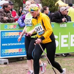 SEB 32. Tartu Jooksumaraton - Liis Astover (1267), Anita Peiponen (2651)