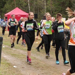 SEB 32. Tartu Jooksumaraton - Ingrid Sahk (8383), Andor Aland (8909), Kaisa Arumäe (8974)
