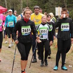 SEB 32. Tartu Jooksumaraton - Cätlin Mägi (2631), Rait Jansen (8551), Andor Aland (8909)