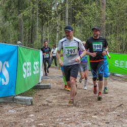 SEB 32. Tartu Jooksumaraton - Urmas Voitka (297), Aigar Ojaots (598)