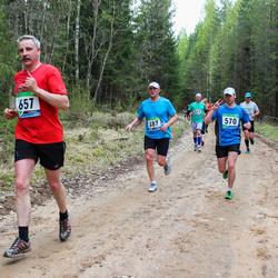 SEB 32. Tartu Jooksumaraton - Aare Piire (487), Rainer Lepik (570), Hillar Viksi (657)