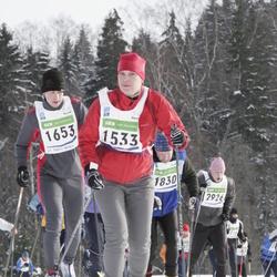 37. Tartu Maraton - Kristiina Ojamäe (1533), Janis Kirbits (1653), Aare Limberg (1830), Indrek Jaadla (2926)