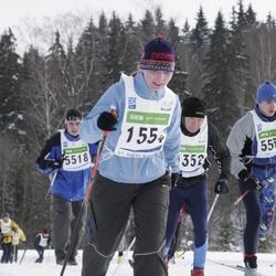 37. Tartu Maraton - Viia Kaldam (1554), Andre Luman (5518)