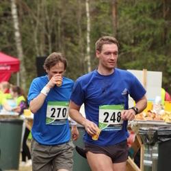 SEB 32. Tartu Jooksumaraton - Mikk Medijainen (248), Aleksei Panarin (270)