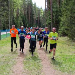 SEB 32. Tartu Jooksumaraton - Hardi Kaljurand (556), Alar Just (596), Peeter Voovere (747)