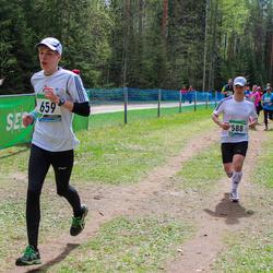 SEB 32. Tartu Jooksumaraton - Alar Lehesmets (588), Kristjan Uibo (659)