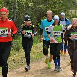 SEB 32. Tartu Jooksumaraton - Merle Schneider (1206), Merle Mägi (1228), Ago Võhmar (1497)