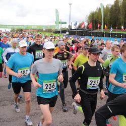 SEB 32. Tartu Jooksumaraton - Taavi Dovnar (236), Magnus Krusemann (237), Aare Piire (487)