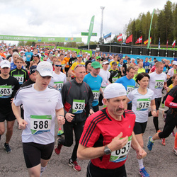 SEB 32. Tartu Jooksumaraton - Janek Pajula (326), Alar Lehesmets (588), Kajar Lepik (603)