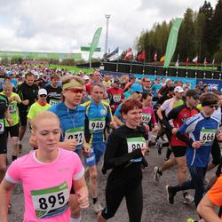SEB 32. Tartu Jooksumaraton - Marek Laane (666), Ardi Vister (759), Silvia Tenisson (895), Ago Käis (946)
